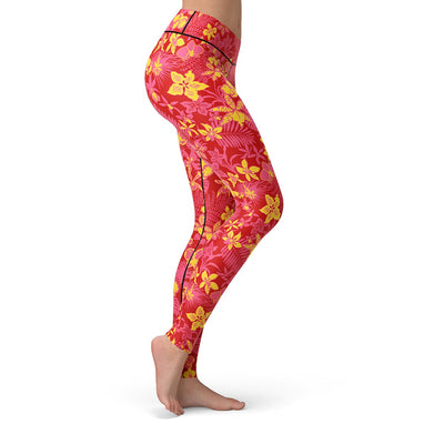 Floral Afterglow Leggings