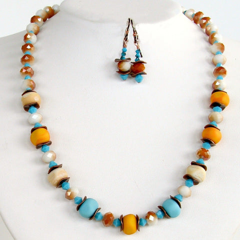 Southwest Beaded Necklace Set