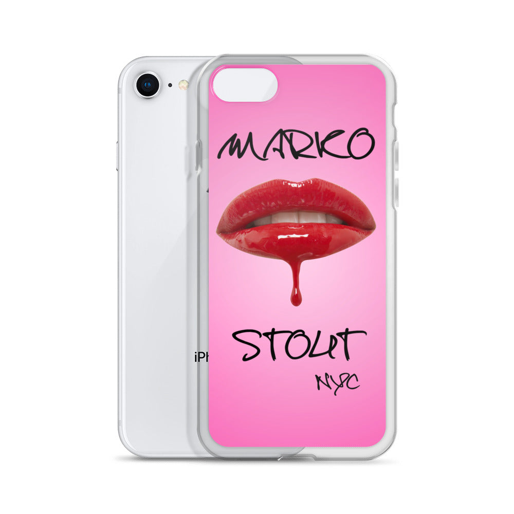 iPhone Case (Lips in Red)
