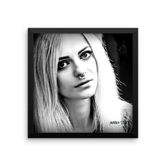 """Black & White No. 02"" Framed Limited Edition Print (50 per size)"