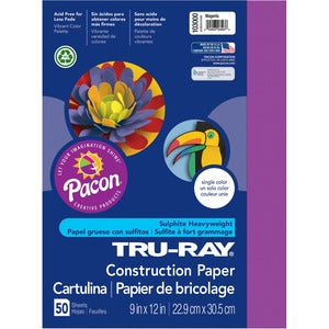 Pacon Tru-Ray Heavyweight Construction Paper (Pack of 50)