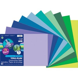 Pacon Tru-Ray Heavyweight Construction Paper (Pack of 1)