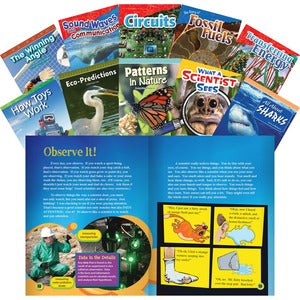 Shell STEM Grade 4 10-book Set Education Printed Book for Science/Technology/Engineering/Mathematics - English (Set of 1)