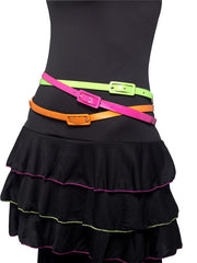 Neon Multi-coloured Belts