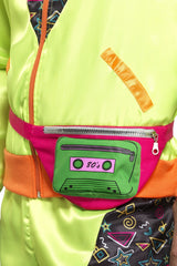 80's Multi-Coloured Bumbag