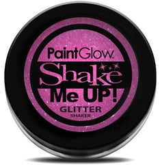 UV Glitter Shaker! Face & Body Paint- Pink 4g