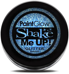 UV Glitter Shaker! Face & Body Paint- Blue 4g