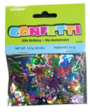 Aged 30 5oz Multi-coloured Confetti