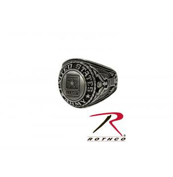 Deluxe Silver Insignia Ring