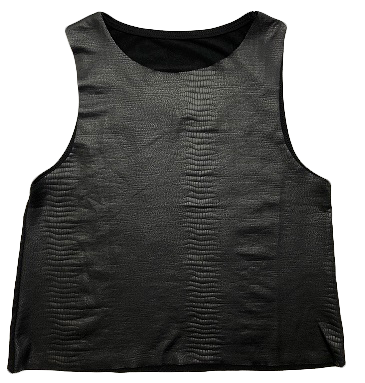 Snakeskin Girls Tank Top
