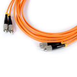 10ft (3m) LSZH Fiber Optic Patch Cord - MM / FC-FC