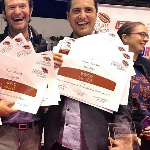 International Chocolate Awards World final winner