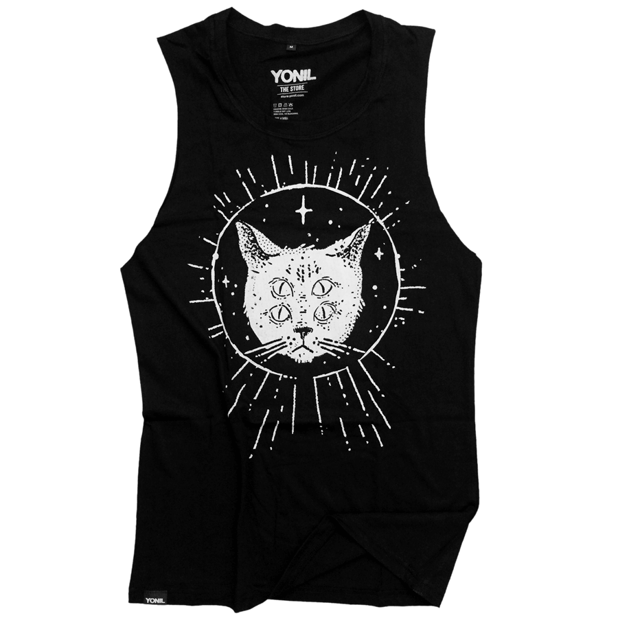 """YONIL Space Program"" (Face) Tanktop T-shirts- YONIL 