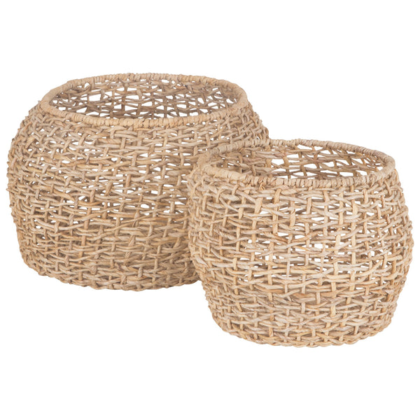 DUO BASKETS / NATURAL / SET OF 2