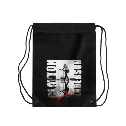 Clayton Anderson Stage Signature Drawstring Bag