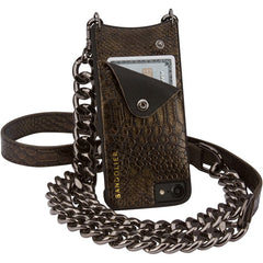 Jun Metallic Bronze  - iPhone 6 / 6S / 7 / 8 Case - Bandolier - Accessories - TOPGEARNY