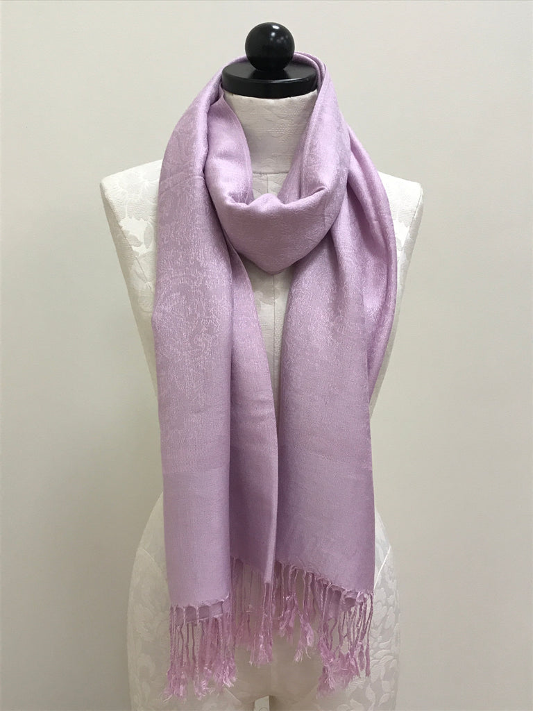 Pashmina Scarf Shawl - Purple Light Pattern - Accessories Boutique