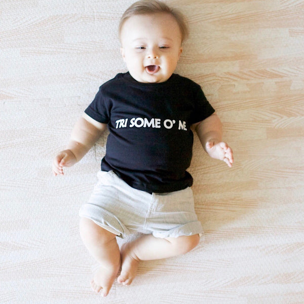 'Tri Some O' Me' Down Syndrome & Trisomy Awareness Unisex Baby & Toddler Tee