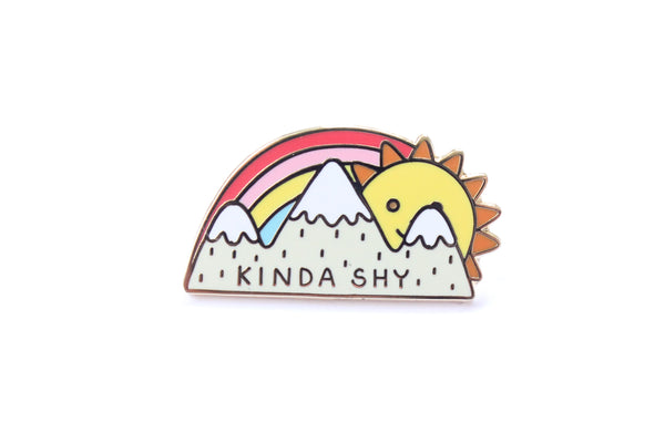 Kinda Shy Pin