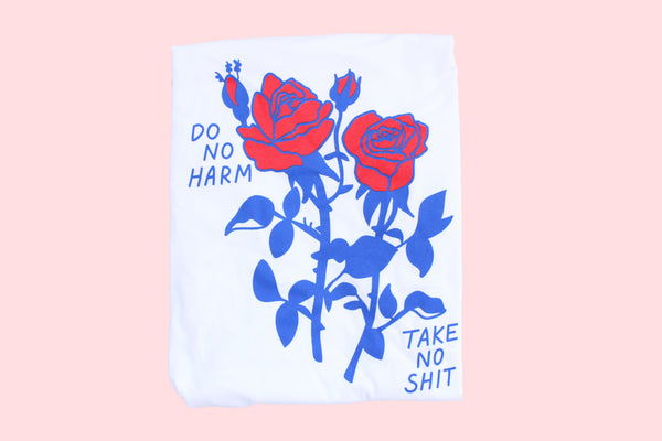 Do No Harm Red Tee