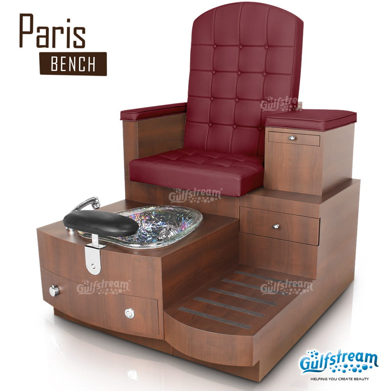 Gulfstream- PARIS SINGLE BENCH -Pedicure Spas