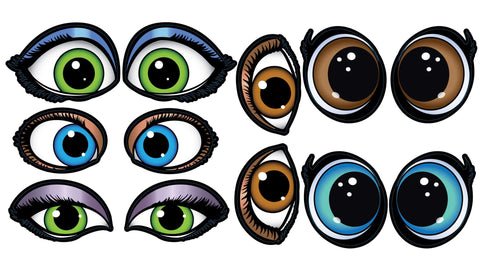 STICKERS AA056<br> Princess Eyes!