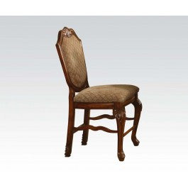 TOWNSVILLE FOA-CM3109SC-DK TRANSITIONAL DARK WALNUT SIDE CHAIR SET OF 2