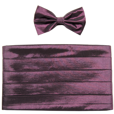 NEW Cummerbund & bowtie set prom wedding chinz