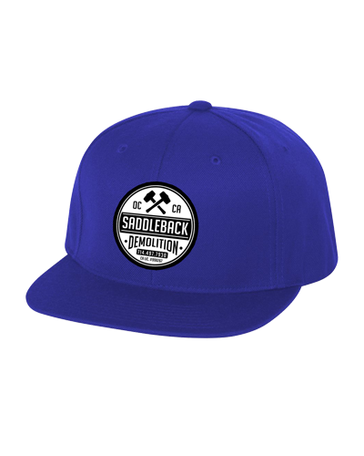 Saddleback Demo - Embroidered Hat (Blue)