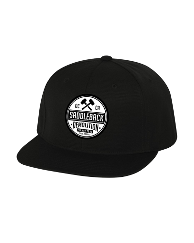 Saddleback Demo - Embroidered Hat (Black)