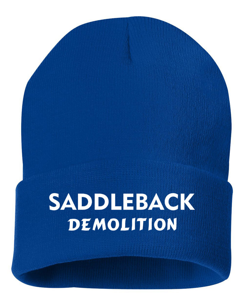Saddleback Demo - Beanie (Blue)