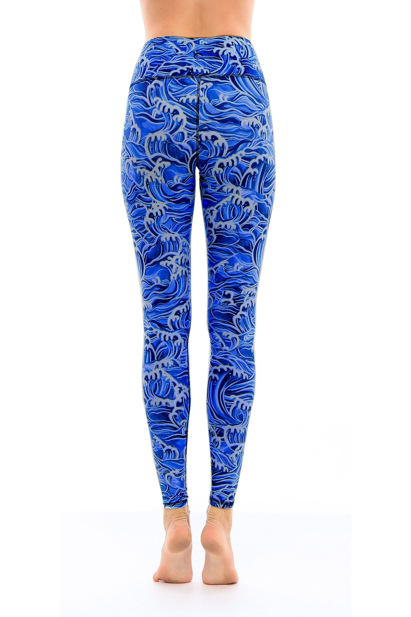 Hawaii Waves Leggings