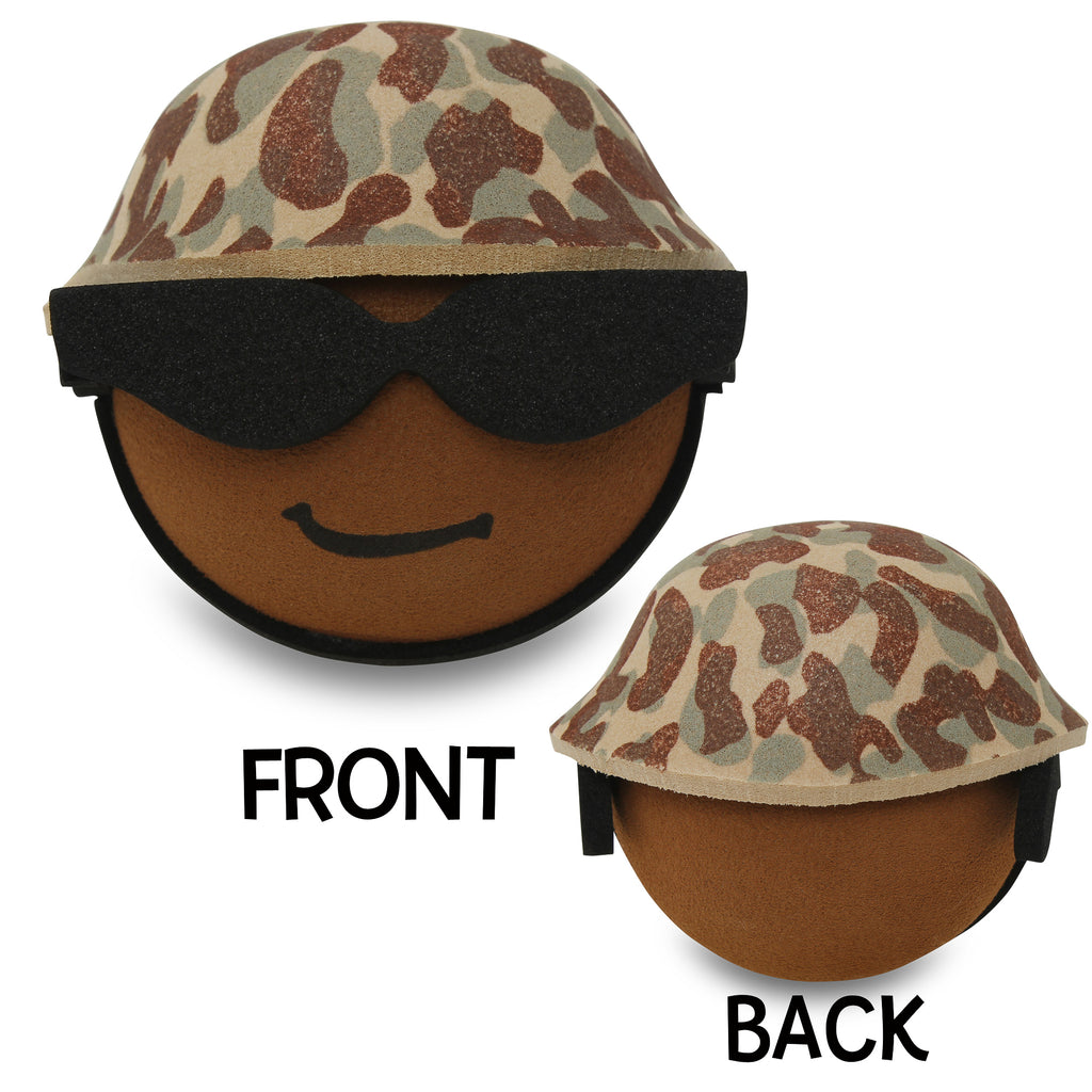 Coolballs U.S. Marine / Army Military (African American) Guy w/ Sunglasses Car Antenna Topper
