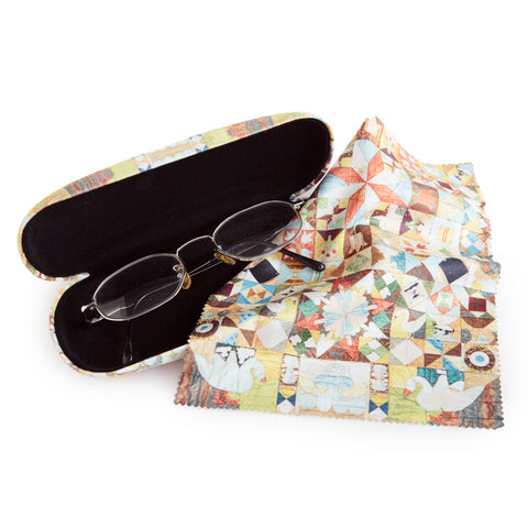 1718 Glasses case and lens cloth