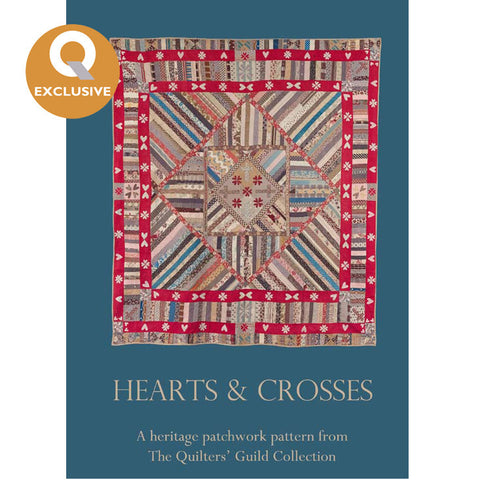 Hearts and Crosses Quilt Pattern