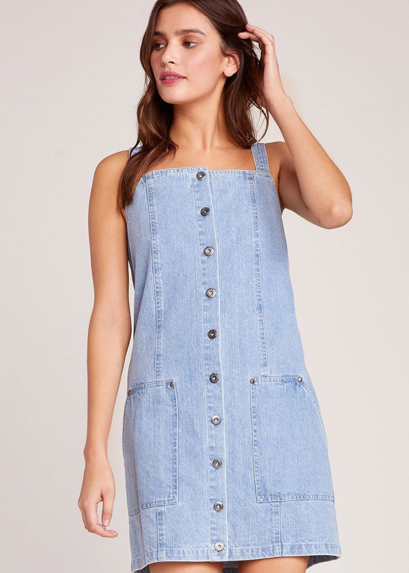 Blue Jean Baby Overall Dress