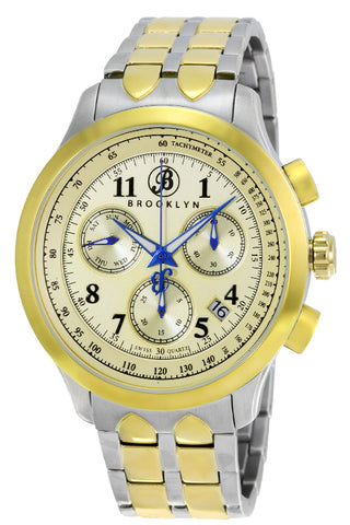 Brooklyn Prince Swiss Quartz Chronograph Mens Watch BW-204-M2372
