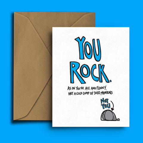 You Rock, Greeting Card