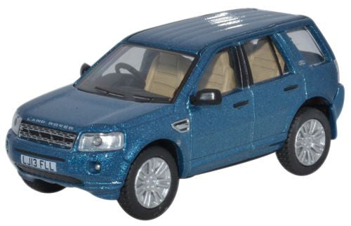 Oxford Diecast Land Rover Freelander Mauritius Blue - 1:76 Scale
