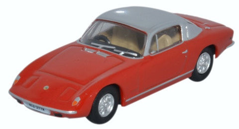 Oxford Diecast Lotus Elan Red And Silver