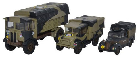 Oxford Diecast Italy 1943 Military Set - 1:76 Scale