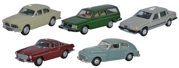 Oxford Diecast 5 Piece Volvo Set