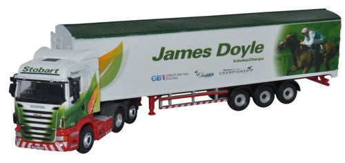 Oxford Diecast Stobart - James Doyle - 1:76 Scale