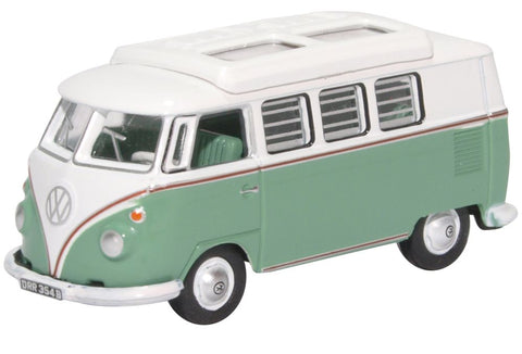 Oxford Diecast VW T1 Camper Turquoise  and White