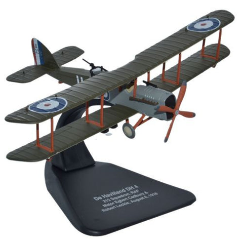 Oxford Diecast DH4 RAF 212 Squadron 1:72 Scale Model Aircraft