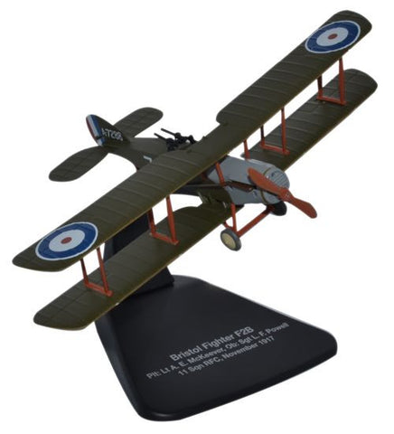 Oxford Diecast Bristol F2B Fighter 11 Sqn 1:72 Scale Model Aircraft