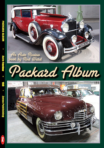 Auto Review Books Packard Album