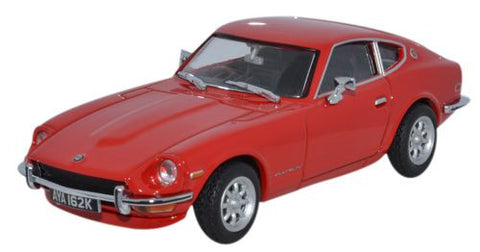 Oxford Diecast Datsun 240Z Red 905 - 1:43 Scale