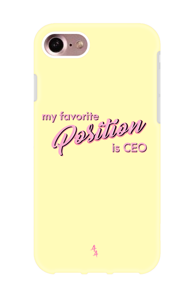 My Favorite Position Is CEO SHOCKPROOF