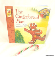 The Gingerbread Man Story Book